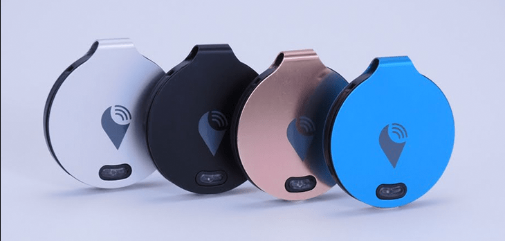 Trackr Tech item tracker Wearable Gift Ideas