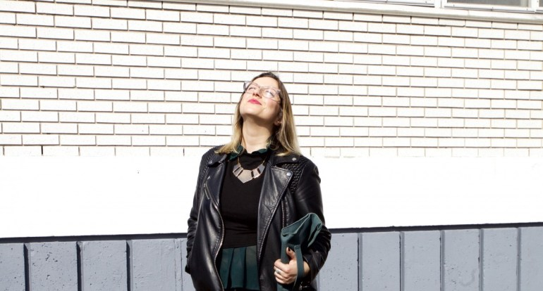 Spring Style Montreal Pleather Weather Black Converse Boots