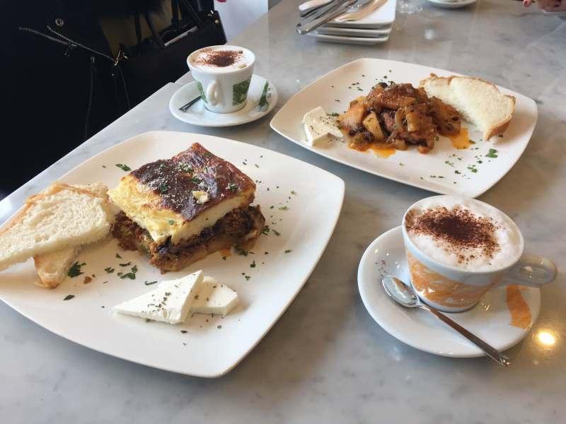 Kamenitsa Lunch Mousaka