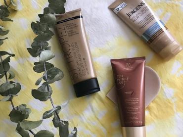 Safer sunless tanning