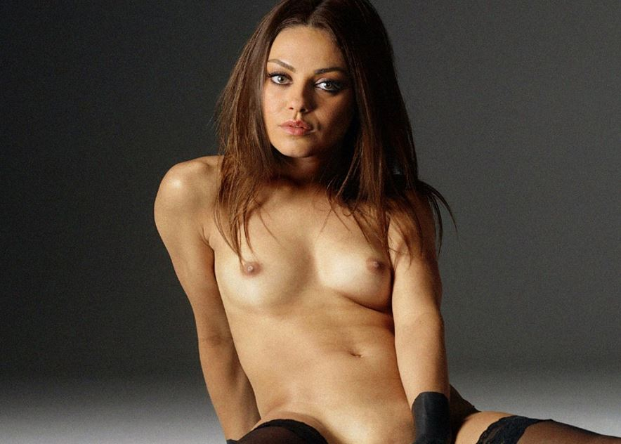 Mila Kunis Hottest Nude Ever 2017 Super Sexy Topless Lingerie Shoot Boobs