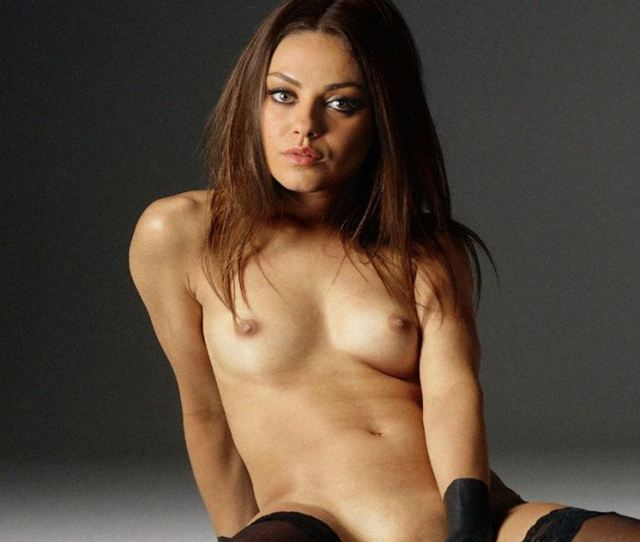 Mila Kunis Hottest Nude Ever  Super Sexy Topless Lingerie Shoot Boobs