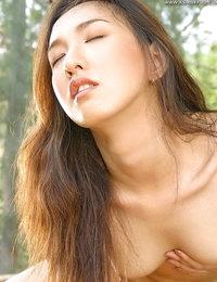Disrobed Oriental Model Miki
