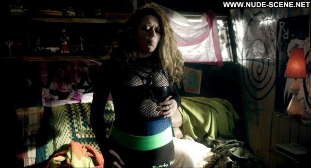 Natasha Lyonne Antibirth Fishnet Bra Celebrity Beautiful Shirt Black