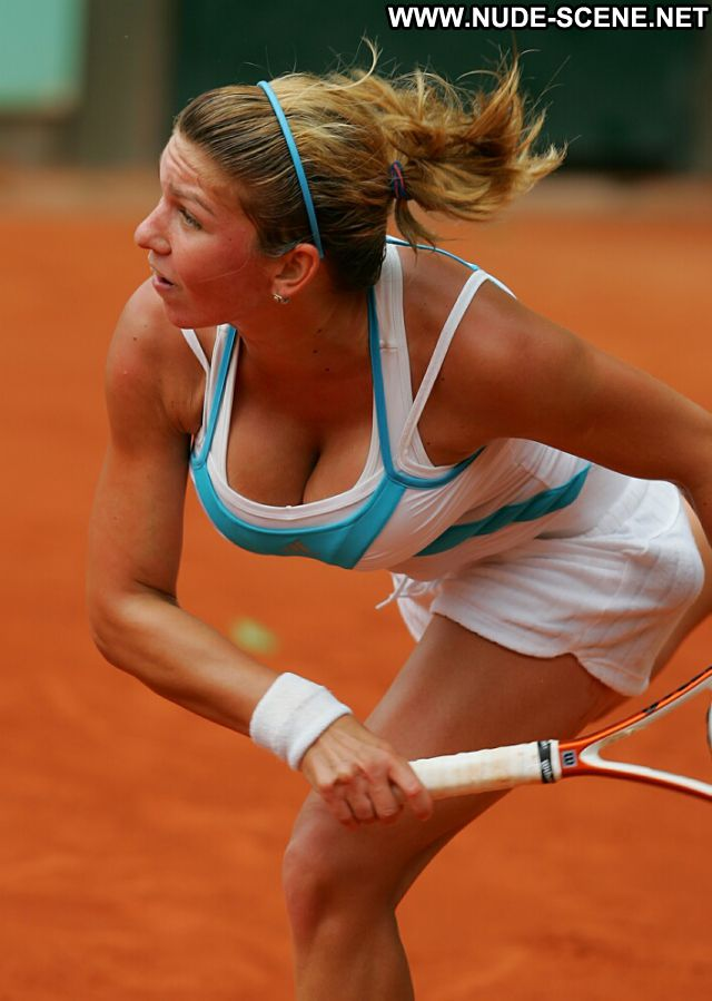 Simona Halep Tennis Uniform Nude Scene Celebrity Actress Hot