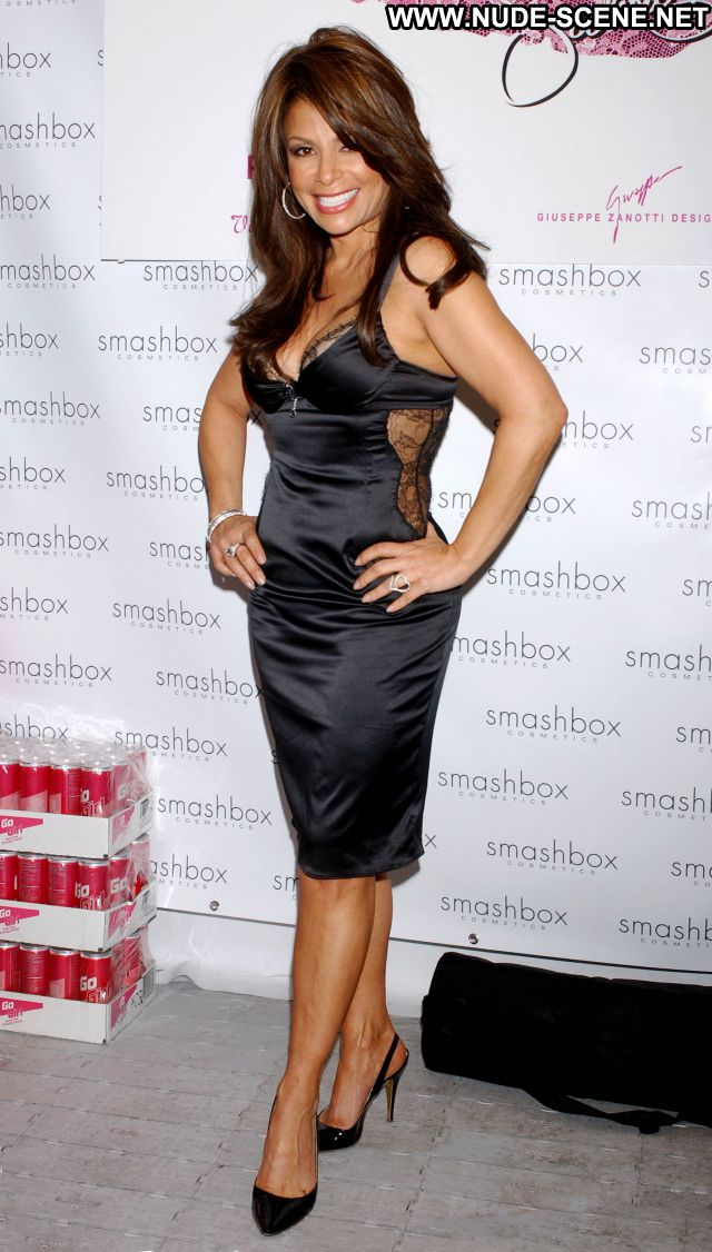 Paula Abdul No Source Brown Hair Sexy Dress Singer Cute Babe