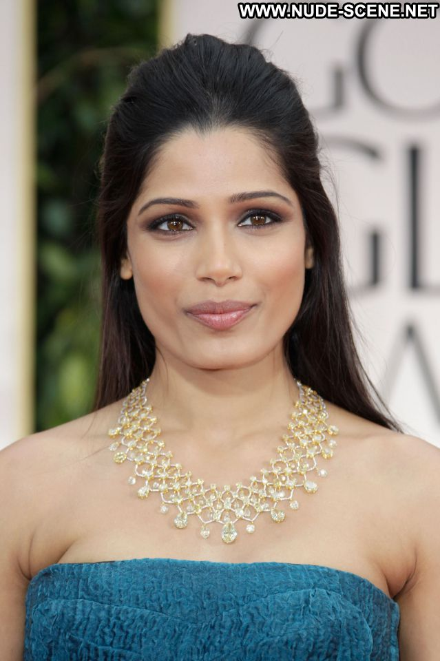 Freida Pinto Posing Hot Cute Female Beautiful Gorgeous Doll