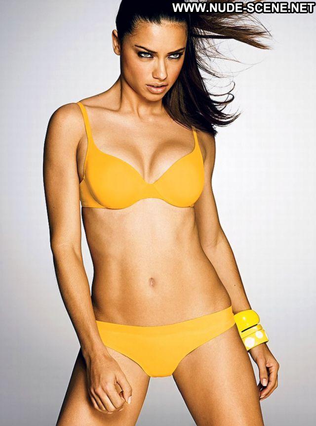 Adriana Lima Lingerie Latina Celebrity Posing Hot Nude Scene