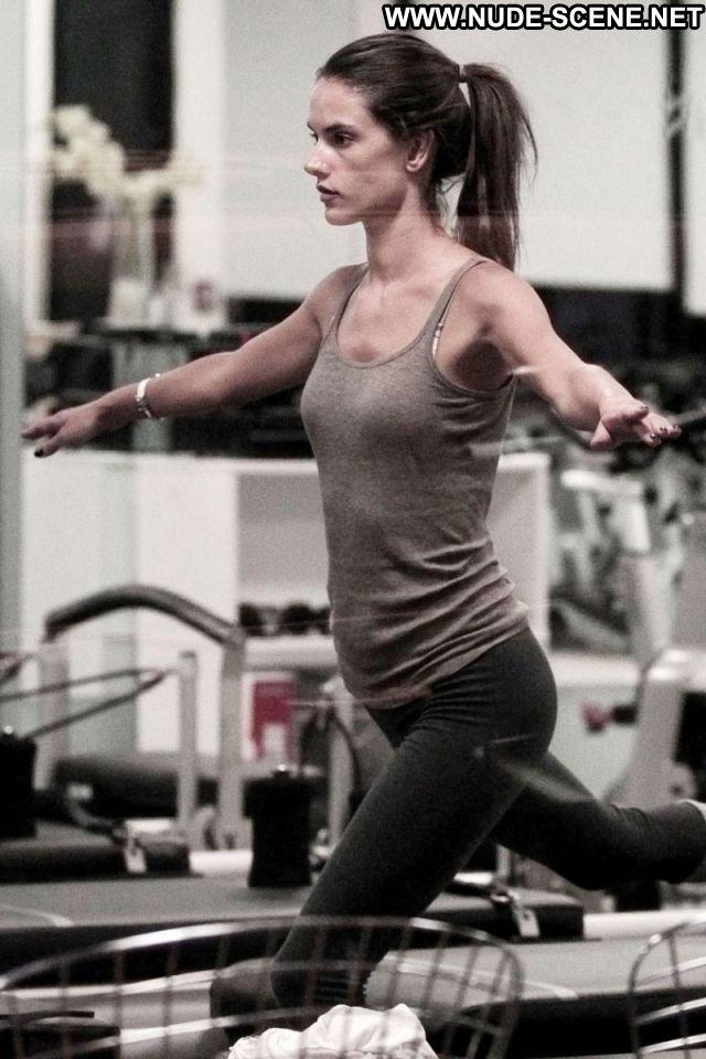 Alessandra Ambrosio Celebrity Latina Celebrity Nude Workout Nude