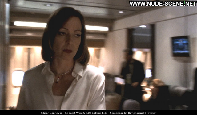 Allison Janney The West Wing Posing Hot Beautiful Celebrity Babe Tv