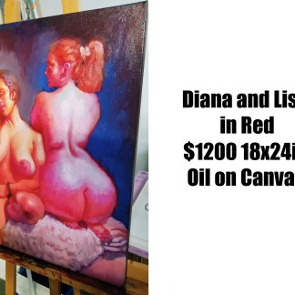 Alex Castaneda — Diana and Lisa in Red
