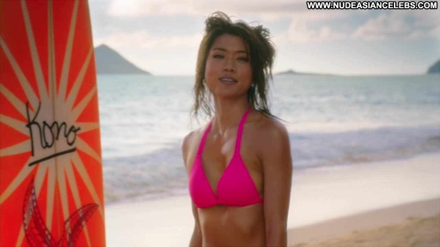 Grace Park Hawaii Five Posing Hot Skinny Small Tits Brunette