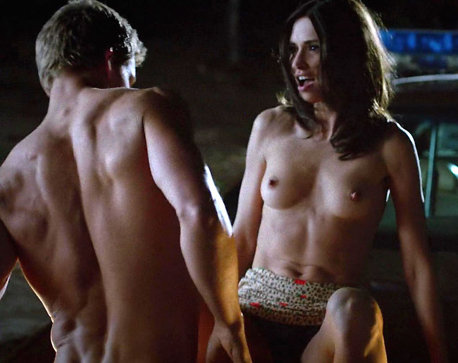 true blood star karolina wydra nude sex on car