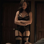 maggie siff who played rachel katz in stockings and suspenders
