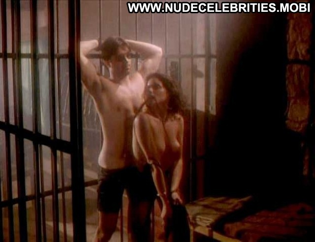 Lesli Kay Sterling Petticoat Planet Topless Leather Sexy Nude Scene