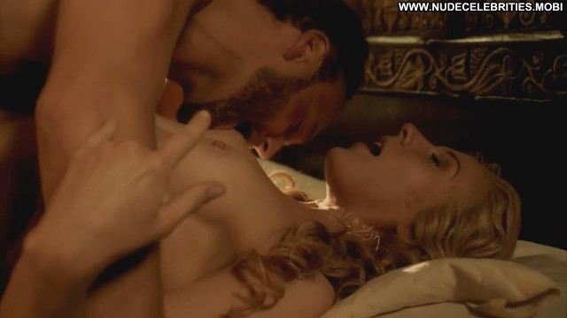 Jeany Spark Nude Sexy Scene Da Vinci S Demons Bed Celebrity
