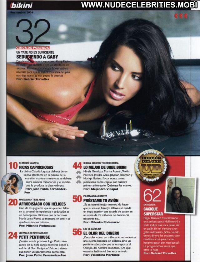 Gaby Espino Venezuelan Latina Bikini Female Sexy Cute Doll