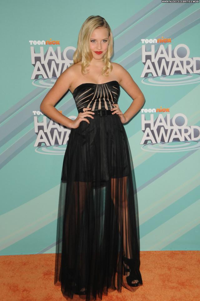Gracie Dzienny Beautiful Hollywood Posing Hot Babe Celebrity Awards