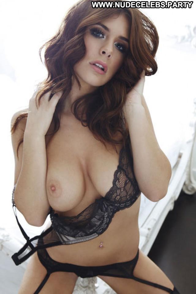Kelly Hall Photo Shoot British Model Celebrity Big Tits Big Boobs