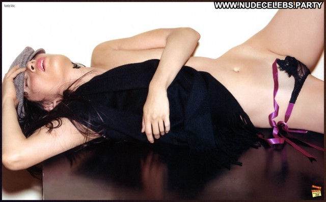 Lucy Liu Photo Shoot Nude Doll Nice Asian Brunettes Celebrity
