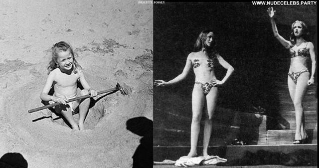 Brigitte Fossey Miscellaneous Brunette Stunning Celebrity Posing Hot