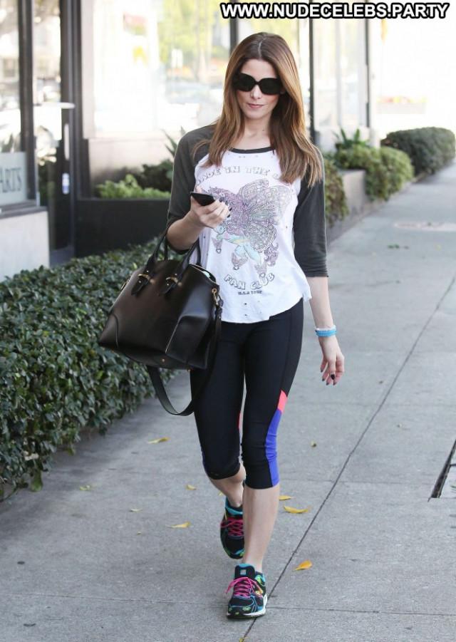 Ashley Greene Gym In La Paparazzi Babe Celebrity Beautiful Posing Hot