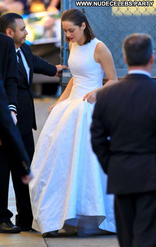 Marion Cotillard Jimmy Kimmel Live Paparazzi Hollywood Beautiful Babe