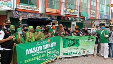 Photo of Gema Ramadhan, NU Pancoran Mas Berbagi Takjil ke Pengendara dan Masyarakat