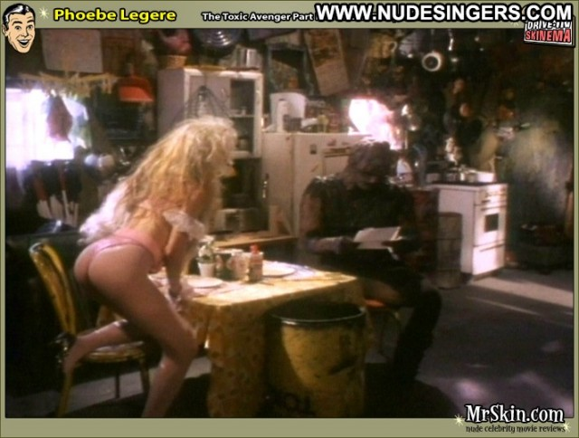 Phoebe Legere The Toxic Avenger Part Iii Bombshell Celebrity Pretty