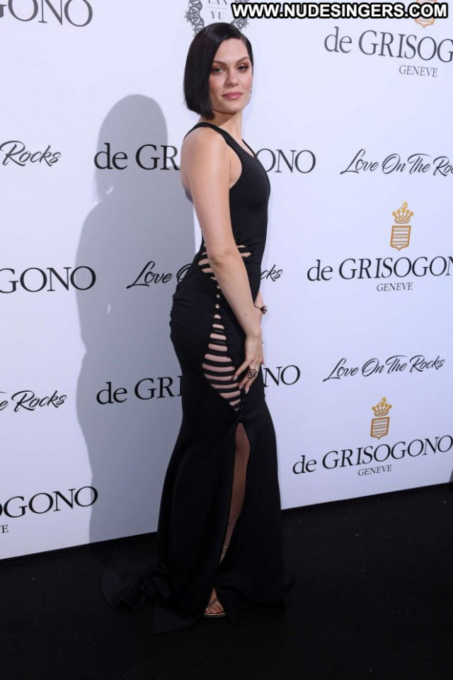 Jessie J Cannes Film Festival Party Posing Hot Babe Beautiful
