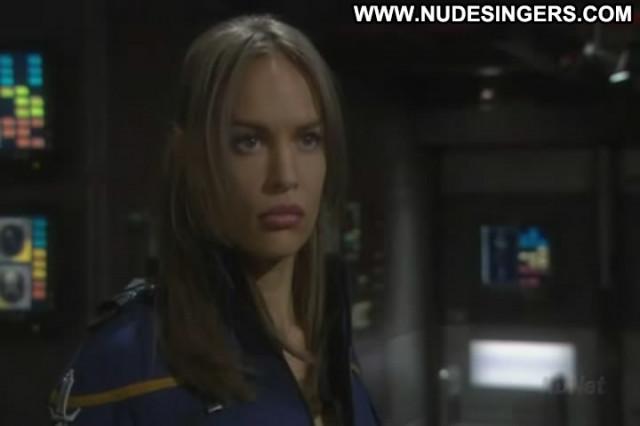 Jolene Blalock Star Trek Enterprise Celebrity Posing Hot Babe