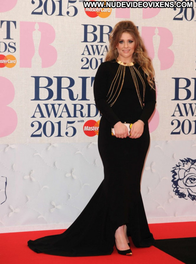 Ella Henderson Brit Awards Celebrity London Paparazzi Babe Beautiful