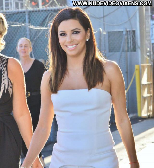 Eva Longoria Jimmy Kimmel Live Hollywood Paparazzi Posing Hot