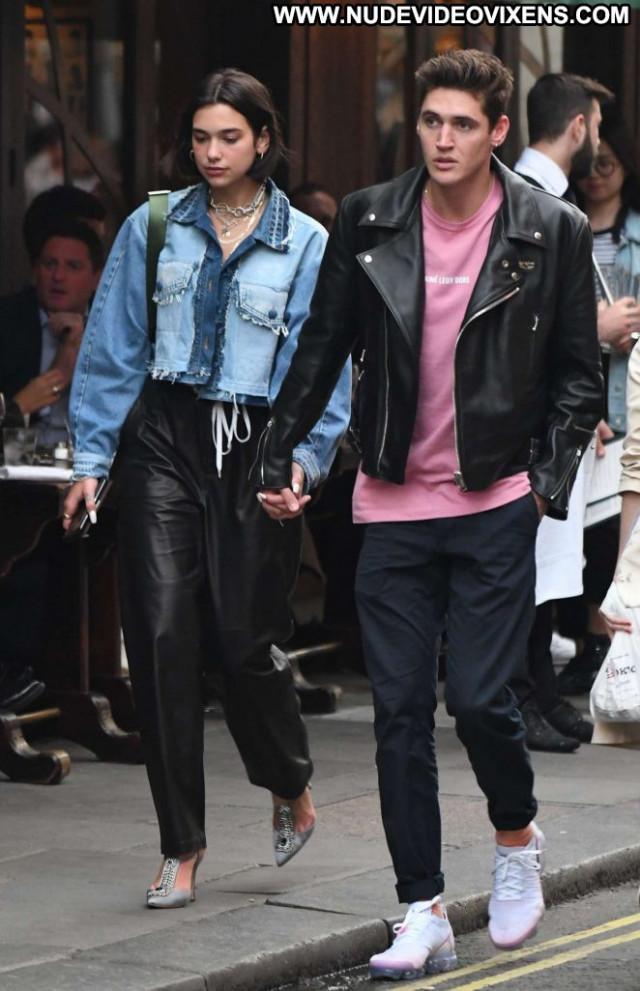 Dua Lipa No Source Celebrity Posing Hot London Paparazzi Babe