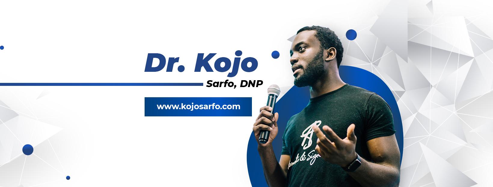Dr Kojo Sarfo cover photo