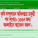 Department of Agriculture job circular 2019