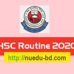HSC Routine 2020 PDF