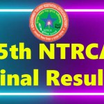 15th ntrca final result 2020