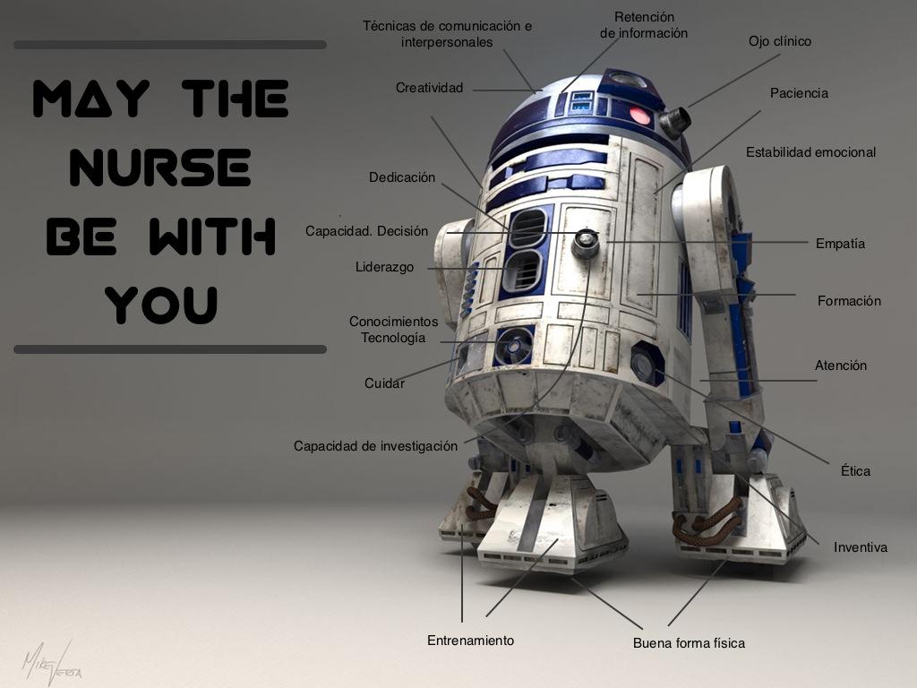 Que la enfermera sea contigo
