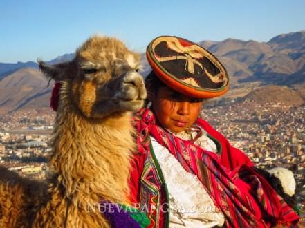Niña de Cusco, Perú