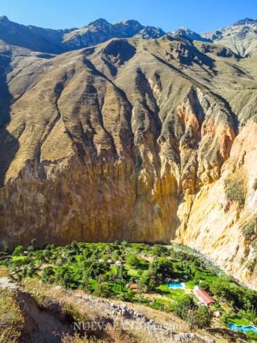 Oasis de Sangalle, Cañón del Colca, Perú