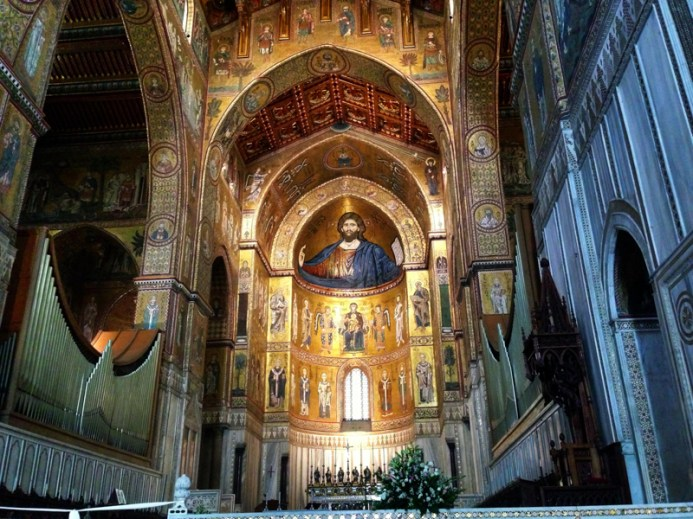Duomo de Monreale, cerca de Palermo