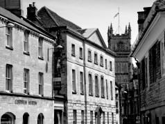 Una calle de Cirencester (Reino Unido)