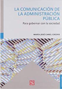 """María José Canel Crespo: """"La Comunicación de la Administración Pública"""""""