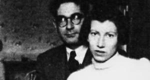 Leone y Natalia Ginzburg © Wikipedia