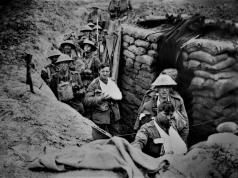 Trinchera de la I Guerra Mundial © Shutterstock