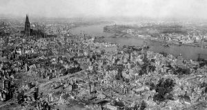 Colonia en 1945. Foto: © Wikimedia Commons