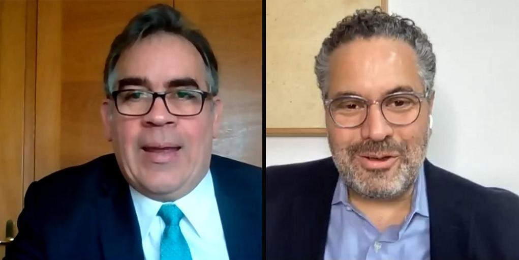 Ignacio Álvarez y Armando Briquet © Josema Visiers