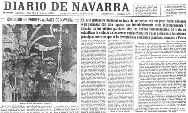 diario navarra 4 julio 1947