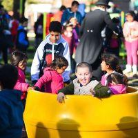 Mañana se festeja el Día del Niño en todos los polideportivos del distrito